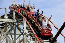 Amusement Ride Review: The Cyclone Roller Coaster Coney Island NY